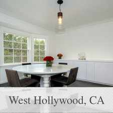 Rental info for CELEBRITY STYLE LEASE. Parking Available! in the West Hollywood area