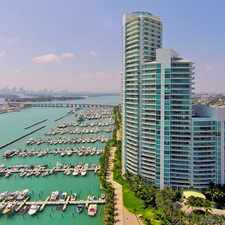 Rental info for 1000 South Pointe Drive #2304 in the Miami Beach area