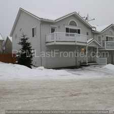 Rental info for Huge updated townhouse with beautiful flooring and heated garage! in the Anchorage area