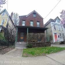 Rental info for 5510 Howe St. Apt #1 in the Pittsburgh area