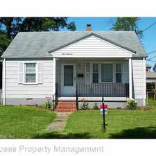 Rental info for 100 Ansell Ave in the Chesapeake area