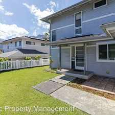 Rental info for 45-592 Pilipaa St. in the Honolulu area