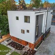 Rental info for 5725 25th Ave NE in the Seattle area