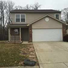 Rental info for 7608 Blue Willow Drive in the Indianapolis area