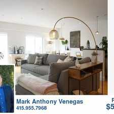 Rental info for 56 Sheridan St. in the San Francisco area