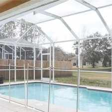 Rental info for Beautiful 4 Bedroom 2 Bath New Tampa Pool Home. in the Tampa area