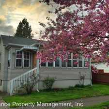 Rental info for 4415 N. Haight Ave. in the Portland area