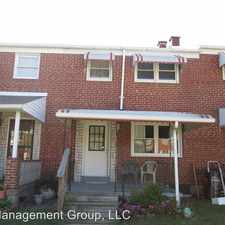 Rental info for 1516 Barkley Ave in the Essex area