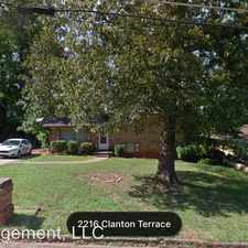 Rental info for 2216 Clanton Terr. in the Candler-McAfee area