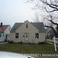 Rental info for 1787 MORRIS in the 48146 area