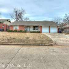 Rental info for 4128 NW 62nd Ter in the Oklahoma City area