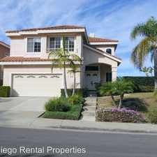 Rental info for 11898 Meajean Pl. in the San Diego area