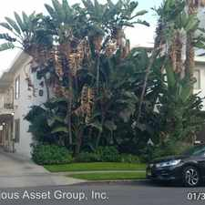 Rental info for 748 N Hudson Ave in the Los Angeles area