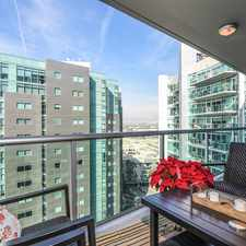Rental info for 13600 Marina Pointe Drive #1612 in the Los Angeles area