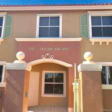 Rental info for 728 SW 106th Ave in the Pembroke Pines area