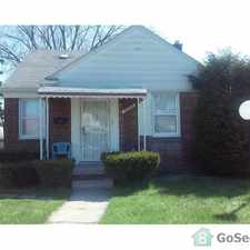 Rental info for Desirable Neighborhood - Desirable House in the Detroit area