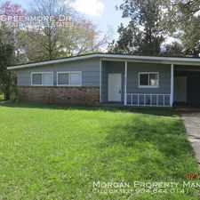 Rental info for 10434 Greenmore Dr in the Jacksonville area