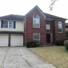 Rental info for 14506 Circlewood Way in the Houston area