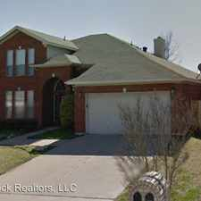 Rental info for 3971 Colorado Springs Drive in the Fort Worth area