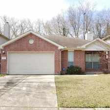 Rental info for 8807 Roaring Point Drive in the Houston area