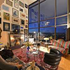Rental info for Marina Del Rey Penthouse Condominium High Ceilings and Wall of Windows to Views of City, Mountain and Ocean