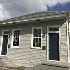 Rental info for 830 Belleville Street in the New Orleans area