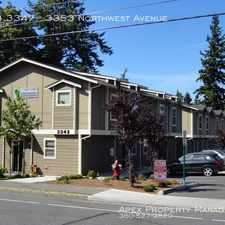 Rental info for 3343 3347 in the Bellingham area