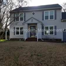 Rental info for Home for Rent in Old Mill Landing- Chesapeake VA in the Chesapeake area