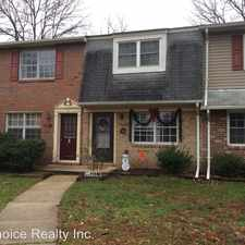 Rental info for 8317 Norwood Drive