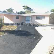 Rental info for Very clean 4 bedroom 2 bath waiting for new family! in the Pompano Beach area