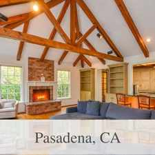 Rental info for 2 Bedrooms House - Luxurious With A Casual Eleg... in the Pasadena area