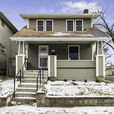 Rental info for 1460 N 6th Street in the Weinland Park area