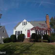 Rental info for 31 Natalie Road in the Cleveland area