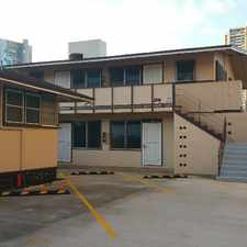 Rental info for 2261 Date Street A-3 in the Honolulu area