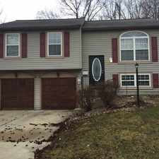 Rental info for 3712 Owster Lane in the Indianapolis area