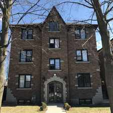 Rental info for Brownstone on Margaret in the Kitchener area