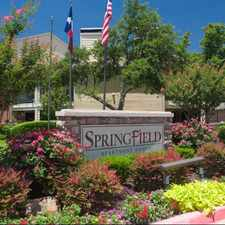 Rental info for Springfield in the Dallas area