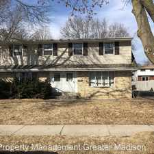 Rental info for 6218 Raymond Rd in the Madison area