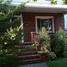 Rental info for Three Bedroom In Clifton in the Middle Village area