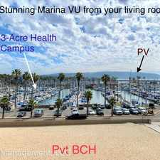 Rental info for 211 Yacht Club Way in the South Redondo Beach area