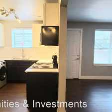 Rental info for 750 South 900 East #21