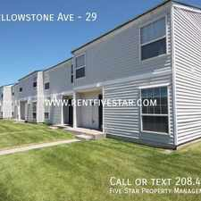 Rental info for 1066 Yellowstone Ave in the Pocatello area