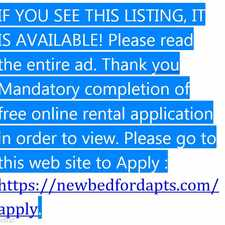 Rental info for New Bedford Apartment in the New Bedford area
