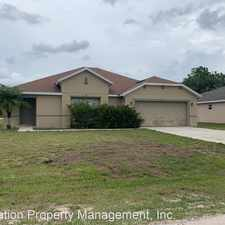 Rental info for 110 Conch Drive
