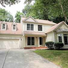 Rental info for 1700 Waterclose Court in the Apex area