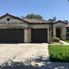 Rental info for Lovely NW Visalia home available!
