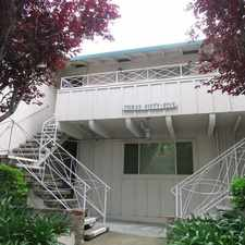 Rental info for 2 bed/1 bath Upstairs/corner apartment near Downtown Palo Alto in the Crescent Park area