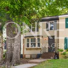 Rental info for Charming Townhome in Huntsville, Available Now! in the Huntsville area