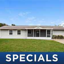 Rental info for 3910 35th Street Southwest in the Lehigh Acres area