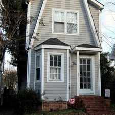 Rental info for Beautiful Home with in walking distance to USC